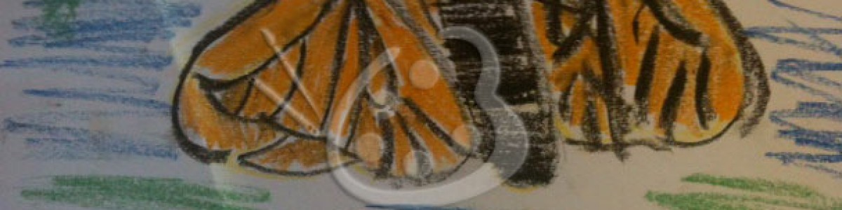 Kids' Art–Monarch Butterfly