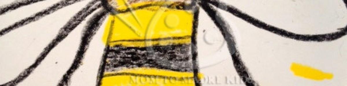 For Kids–Bee Art (Dad's Bee)