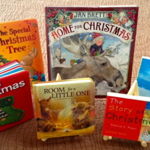 Enjoy books about Christmas.