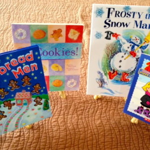 Read fun books with a seasonal theme.