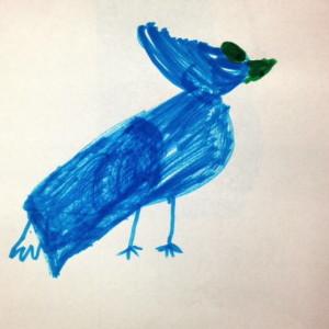 Blue Marker Cardinal