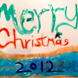 Merry Christmas by Middle Schooler