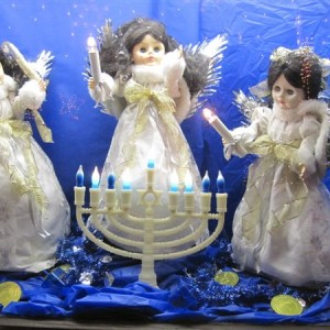 A Hanukkah Fantasy Lights A House