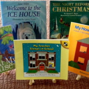 """Books that talk about """"House & Home"""" are perfect for this time of year."""