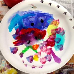 Finger Tip Dots & Beautiful Brush Painting