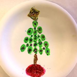 Tree Enhanced With Glitter