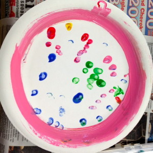 Finger Dots And Brush Strokes