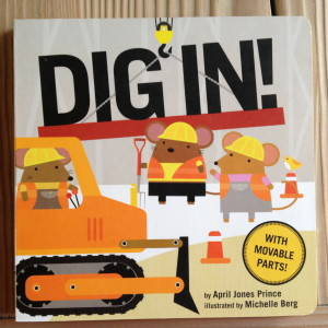 Dig in! has lots of new vocabulary for kids.
