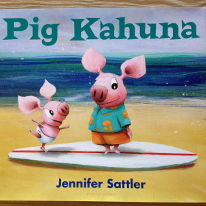 Pigs surf!