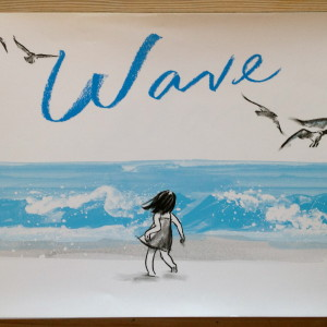 """Wave"" is perfect for a ""Picture Walk."""