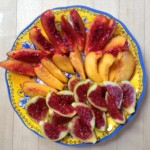 Colorful Nectarines and Figs