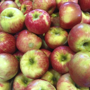 Local Apples Are Arriving