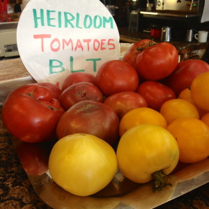 Beautiful Homegrown Tomatoes