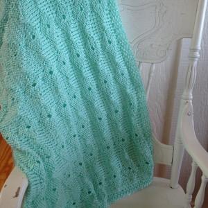 Soft Aqua Blanket