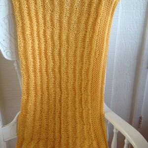 Beautiful Yellow Blanket
