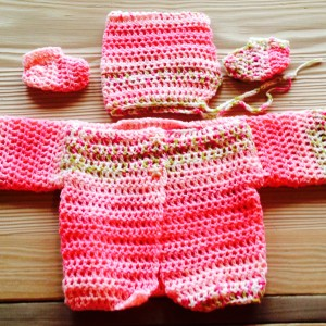 Pink with Star Button