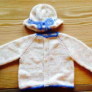 Baby's First Sweater and Hat