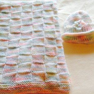 A Blanket and Hat Set