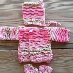 Pink Sweater Set