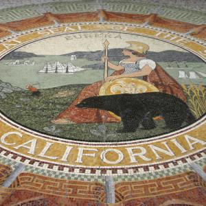 State Seal Mosaic ~ Escudo del estado en Mosaico
