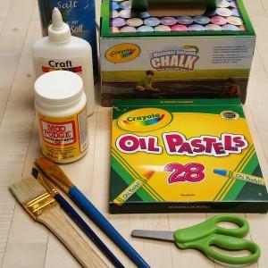 Supplies for Summer Art
