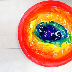 Kinder Rainbow ~ Arco iris del kinder