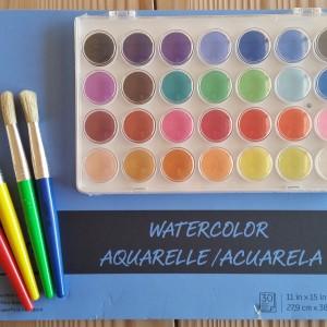 Painting Materials ~ Materiales de pintura