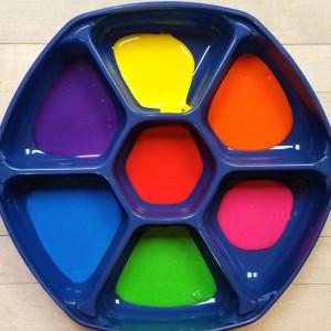 Rainbow Paint ~ Pintura del arco iris