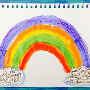 Mom's Rainbow ~ Arco iris por mami