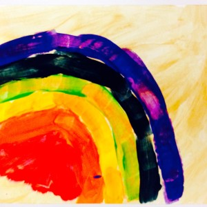 "Child""s Rainbow ~ Arco iris por niño"