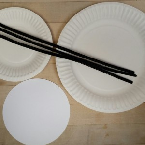 Paper Plates, Pipe Cleaners and Pre-Cut Circles
