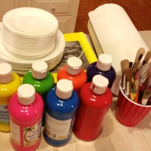 Flower Painting Supplies
