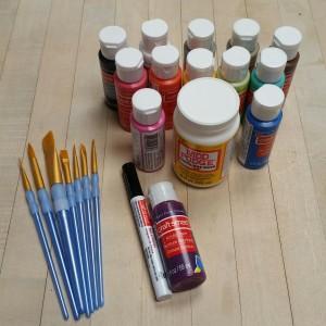 Nontoxic & Washable Paints