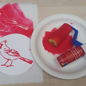 Paint the Bird ~ Pinte el Pájaro