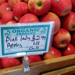 Pink Lady Apples from Chile