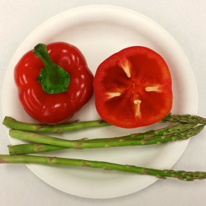 Peppers &  Asparagus