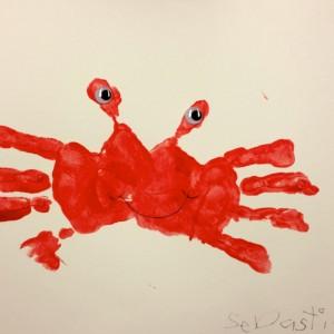 Preschooler's Crab