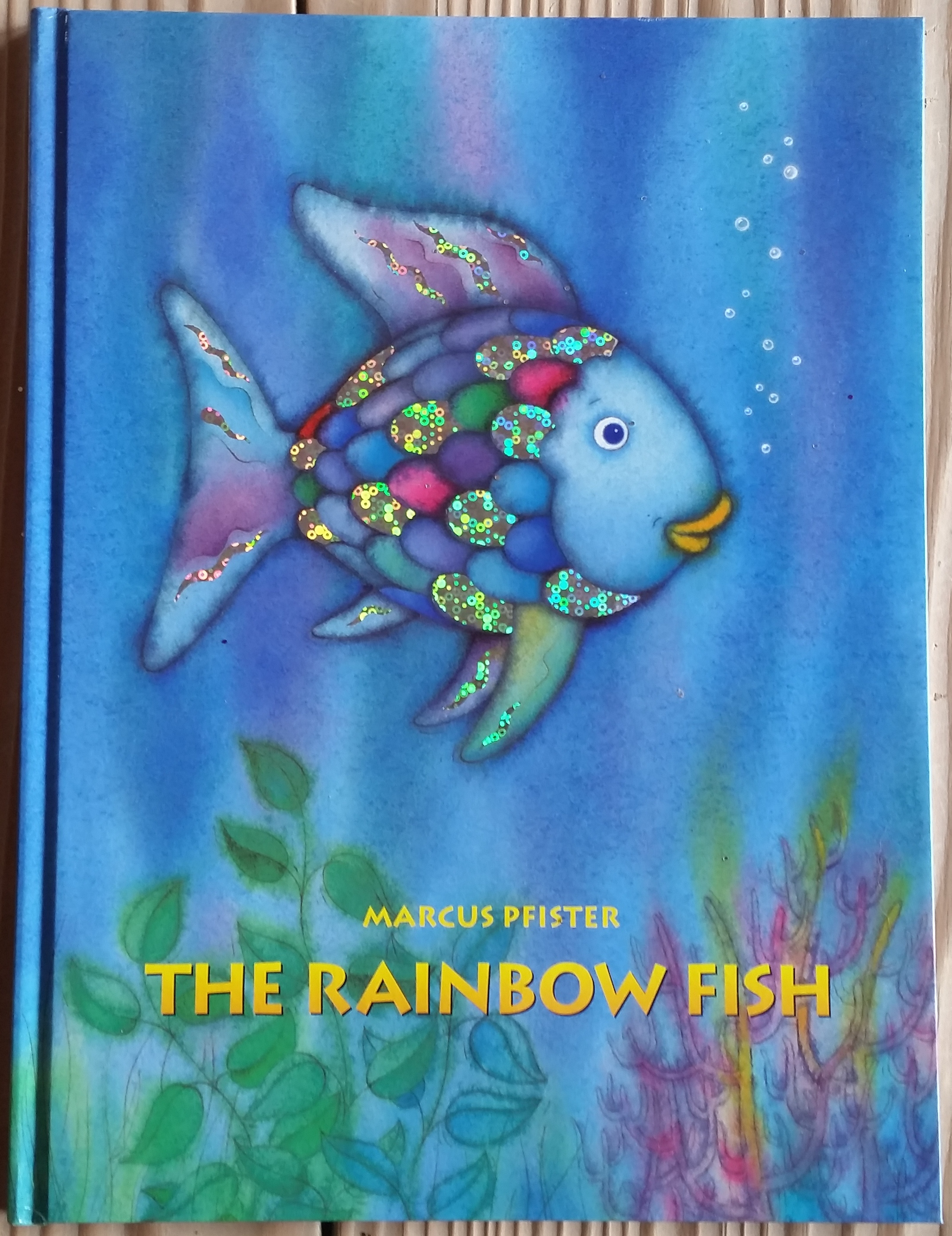 Rainbow fish art for The rainbow fish