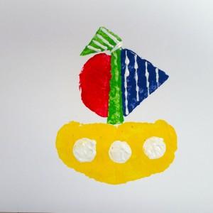 Veggie Boat ~ Barco de verduras