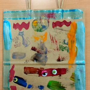 Kindergarten Trick ot Treat Bag