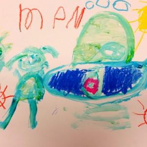 Kindergarten Painting 1