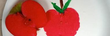 Apples & Okra ~ Manzanas y okra