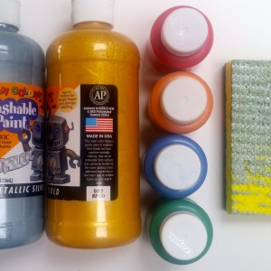 Nontoxic Metallic & Color Paint