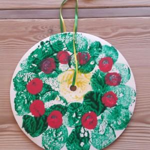 Cake Circle Wreath