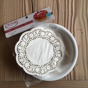 Paper Plate Palettes & Doilies
