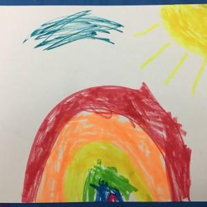 Kinder Rainbow ~ Kinder arco iris