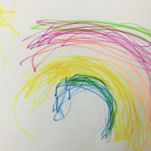 Preschool Rainbow  ~ Arco iris de preescolar