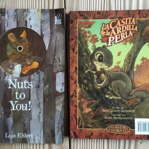 Squirrel Books ~ Libros de ardillas