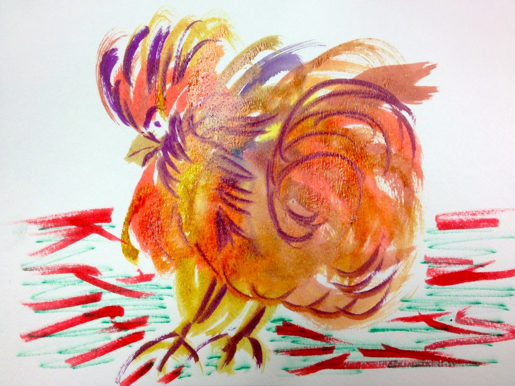 Maureen's Flamboyant Chicken