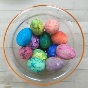 Speckled Eggs ~ Huevos moteados
